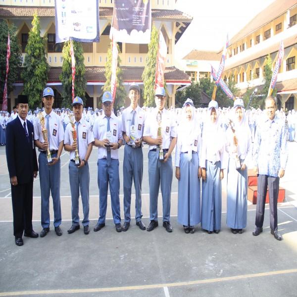 Hasil Kejuaraan Siswa siswi SMAN 1 Banjarnegara Bulan Agustus 2017