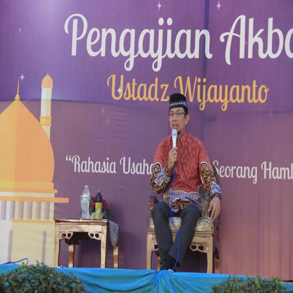 Pengajian Akbar Ustadz Wijayanto di SMAN 1 Banjarnegara