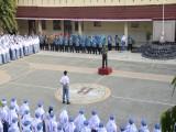Apel Pagi Bersama Danramil 01 Banjarnegara Kapten Inf Toni Sugiyanto